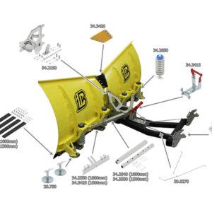 Blade holder( V-Plow G2 1800 )