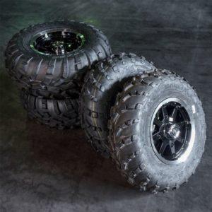 Polaris mönkijän rengassarja 12″ alumiinivanteilla Carlisle AT489