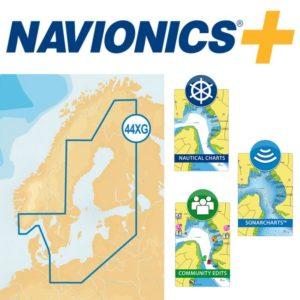 Itämeren kartat Navionics+ 44XG