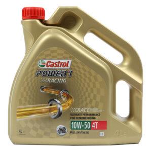 Castrol Power 1 Racing 4T 10W-50 4 L synteettinen moottoriöljy