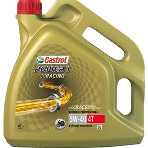 Castrol Power 1 Racing 4T 5W-40 4 L synteettinen moottoriöljy