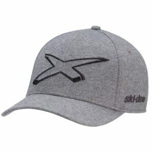 Ski-Doo Flex Fit X-Team Cap, harmaa (2022)